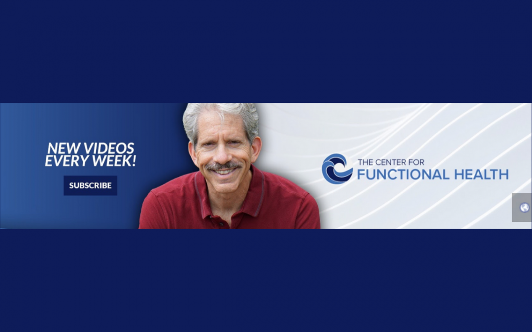 Dr. Kaye's YouTube banner on a blue background.